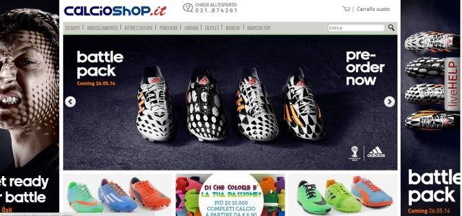Sconti online Calcioshop