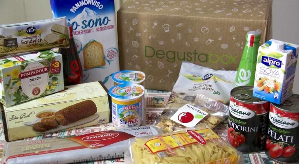 Sconti online Degustabox