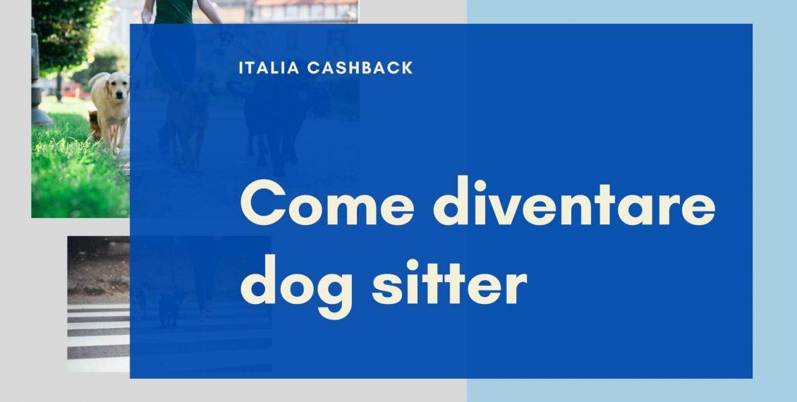 Copertina guida come diventare dog sitter