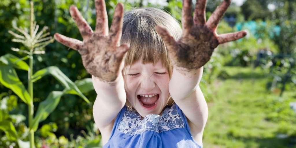 giardinaggio coi bambini