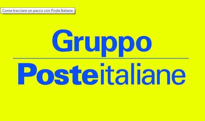 Tracciare un pacco Poste Italiane