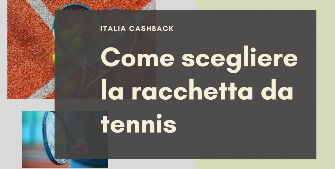 Copertina guida all'acquisto della racchetta da tennis