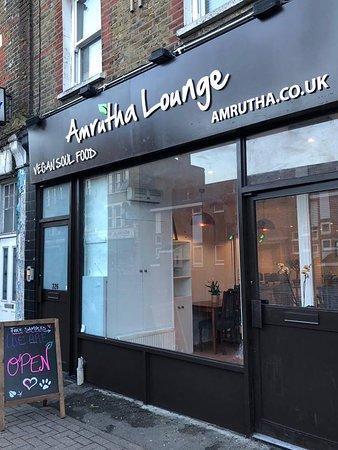 Ristoranti vegan friendly a Londra: Amrutha Lounge