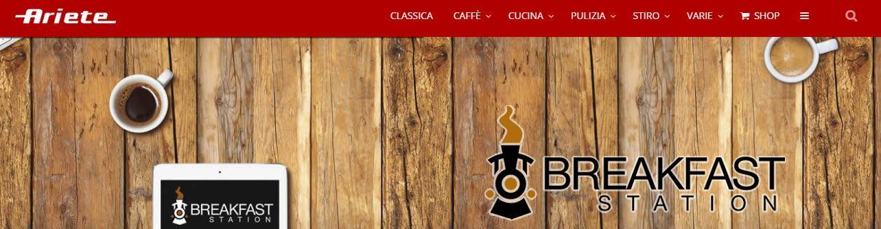 Home page Ariete De Longhi