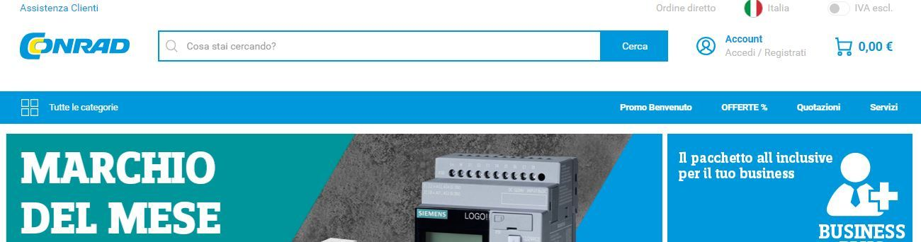 Conrad home page