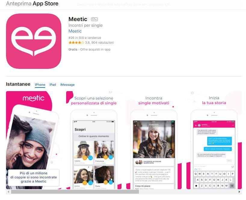 App di Meetic