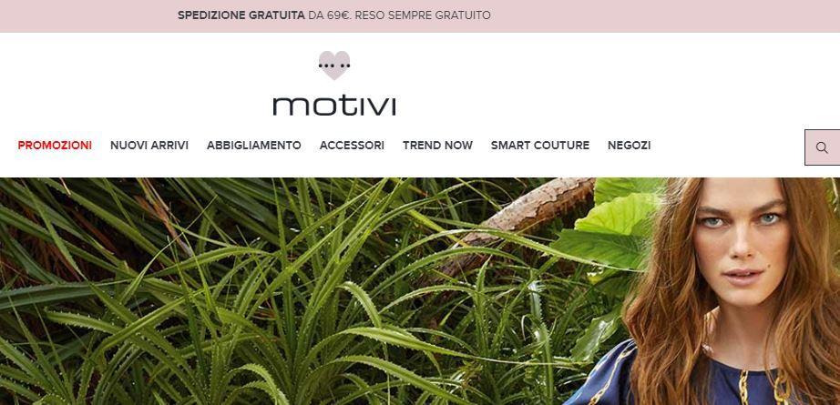 Siti abbigliamento economico online: Motivi
