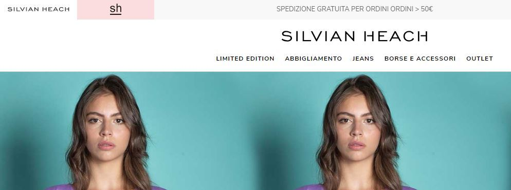 Abbigliamento economico online su Silvian Heach