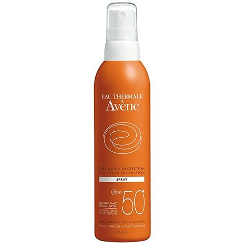 Solari consigliati dai dermatologi: Eau Thermale Avène Spray