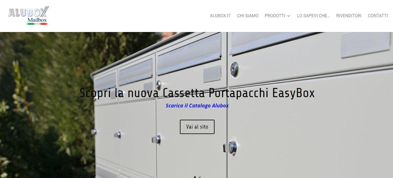 Homepage Alubox cassette postali