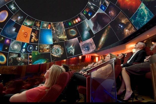 Planetario sulle navi da crociera per single Cunard Line