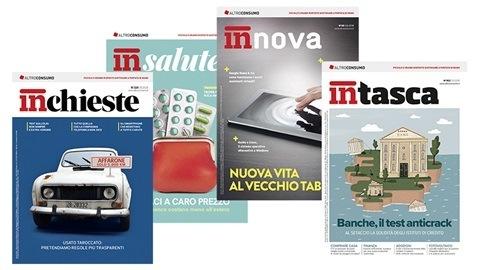 Le riviste Altroconsumo