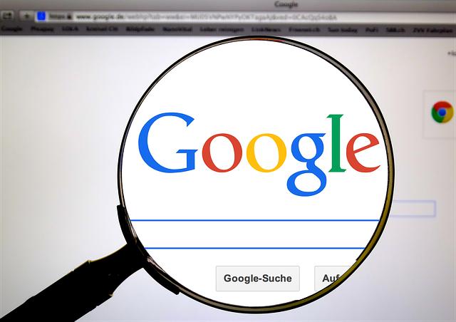 Pagina di ricerca su Google