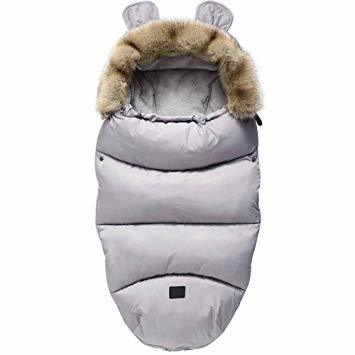 Abbigliamento per neonati: Sleeping bag grigia