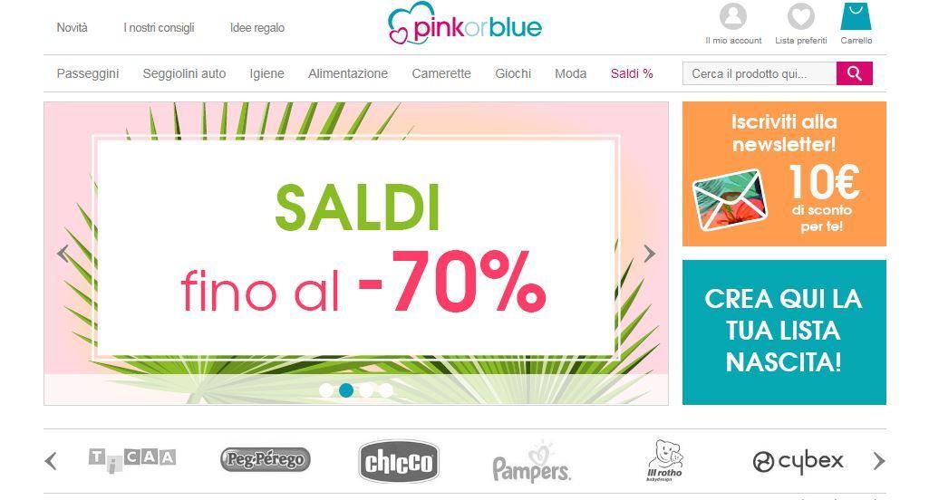 Homepage Pink or Blue abbigliamento neonato
