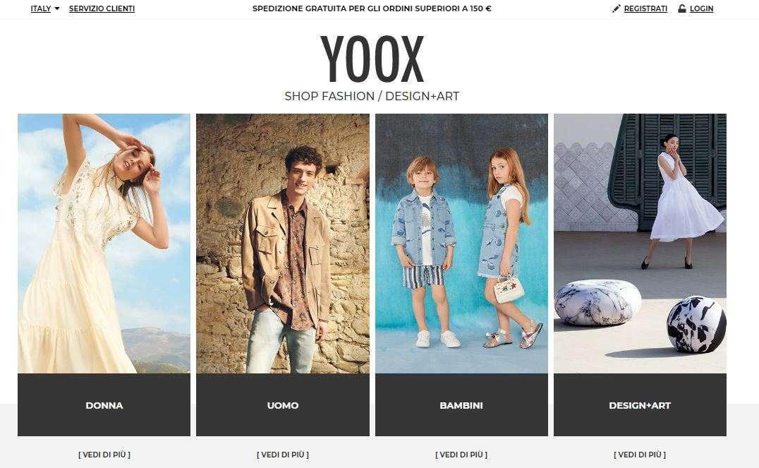 Saldi online Yoox