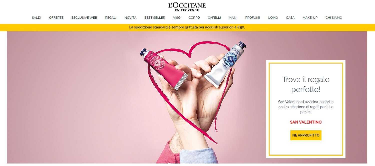 Sconti online L'Occitane