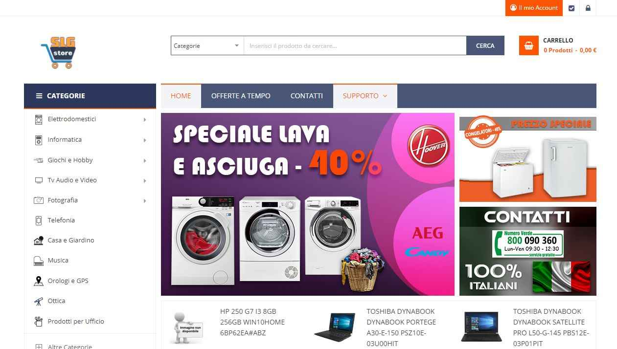 Sconti online SLG Store