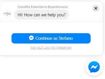 Chat assistenza Clorofilla Erboristeria