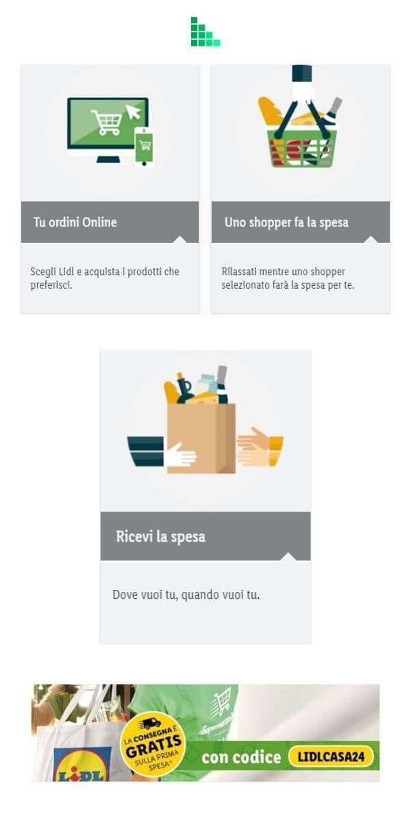 Spesa online Lidl