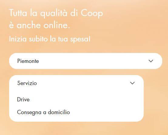 Spesa online Coop