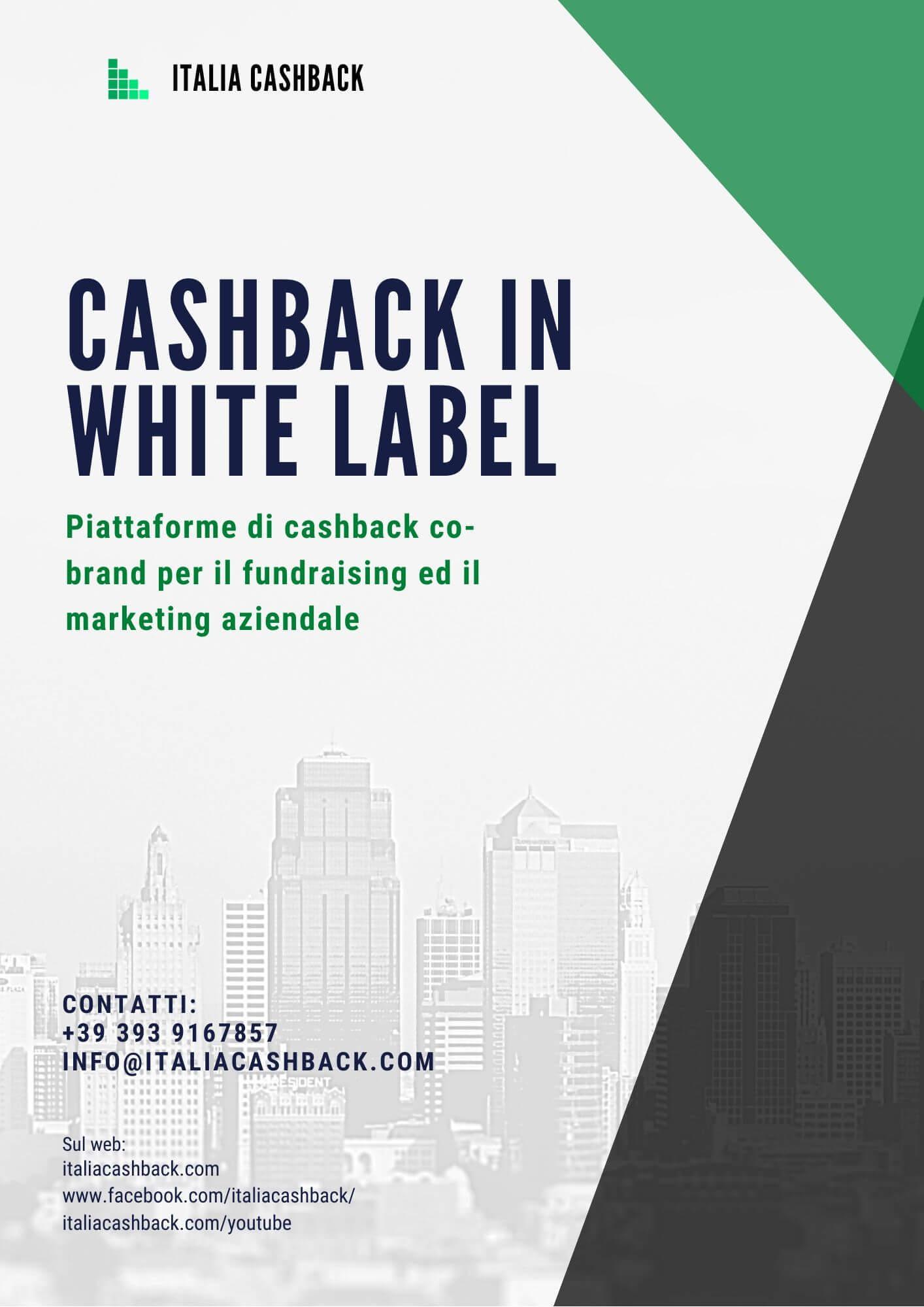 Copertina della Guida al cashback in white label